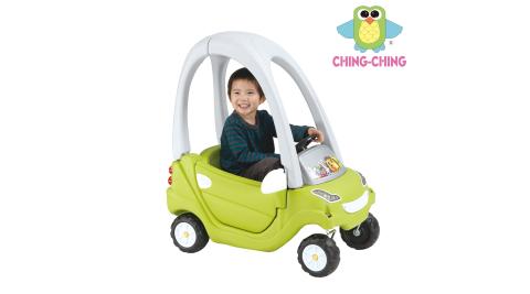 【親親】綠色簡配滑步嘟嘟車(CA-12G)