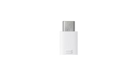 SAMSUNG 三星 Micro USB to Type C 原廠轉接器_白 (盒裝拆售款)
