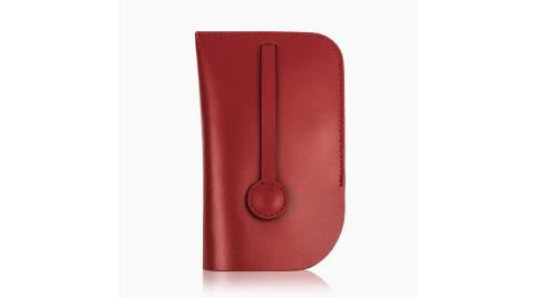 庫存出清  瑞士國鐵牛皮鑰匙包 XW-100348R 紅色