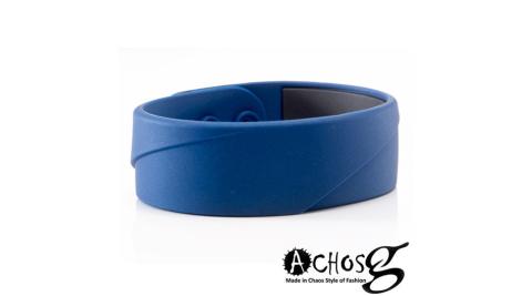 MASSA-G X ACHOS【ARC Master-Blue】鍺鈦手環