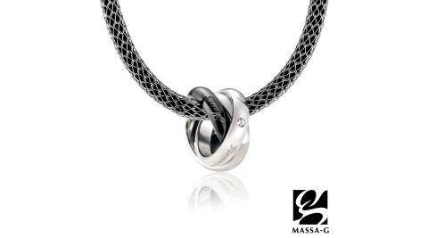 MASSA-G【BLACK Viennese】維也納華爾滋搭配X1 4mm合金鍺鈦項鍊