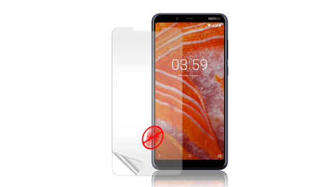 Monia Nokia 3.1 plus 防眩光霧面耐磨保護貼 保護膜 (非滿版)