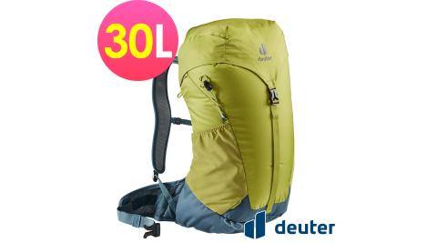 【Deuter】Deuter 網架直立式透氣背包 30L 果綠 AC LITE 30L 3421021 登山背包