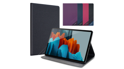 CITYBOSS for 三星 Samsung Galaxy Tab S7 11吋 T870 運動雙搭隱扣皮套