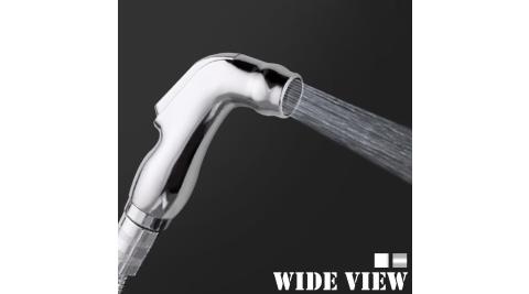 【WIDE VIEW】3M輕巧免治水療小噴槍(含軟管、噴槍、三通分水器、支座US-SH02-30)