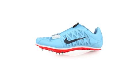 NIKE ZOOM LJ 4 限量-男女田徑跳遠釘鞋-跳高 撐竿跳 競賽 附鞋袋 水藍灰@415339446@
