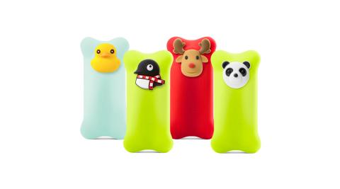 Bone - 泡泡行動電源 6700mAh - 企鵝/麋鹿/鴨子/貓熊