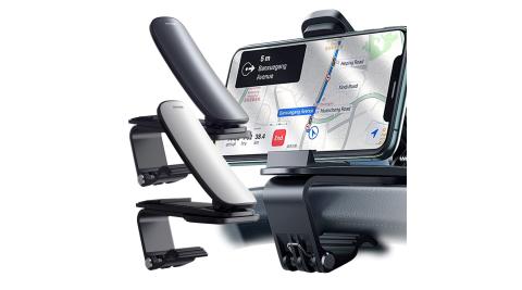 Baseus倍思 大嘴Pro車載支架 儀錶板車用手機支架 導航支架 可旋轉調節 適用中控台 通用型