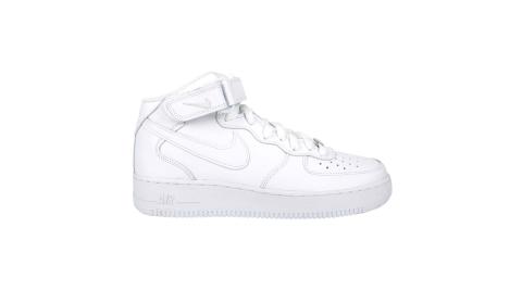 NIKE AIR FORCE 1 MID 07 男休閒鞋-高筒 鞋 經典 白@CW2289111@