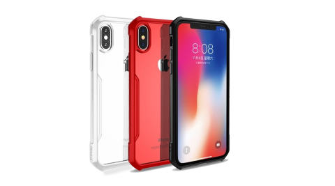 XUNDD for iPhone X 生活簡約雙料手機殼