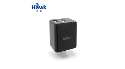【Hawk 浩客】Mini 3.4A充電器-黑