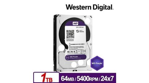WD 威騰 WD10PURZ 紫標 1TB 3.5吋監控系統硬碟