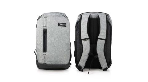 DAKINE 商務後背包32L-雙肩包 肩背包 筆電包 15吋筆電 旅行包 淺麻灰黑@10002052-GREYSCALE@