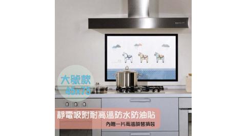 【WIDE VIEW】靜電吸附耐高溫防水防油貼(Q612)