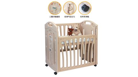 親親 小浣熊嬰兒床(附床墊) RB-04