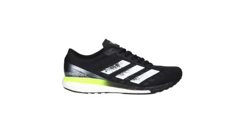 ADIDAS ADIZERO BOSTON 9 M男慢跑鞋-運動 馬牌輪胎 愛迪達 黑螢光綠@FY0343@
