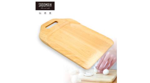 【仙德曼 SADOMAIN】山毛櫸原木餐具蔬果砧板