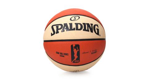 SPALDING WNBA 女子用球-戶外 NBA女子職籃  斯伯丁籃球 米白橘@SPA83382@
