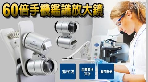 放大鏡/驗鈔/LED/60倍/鑑識