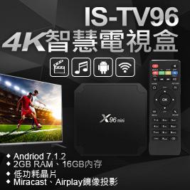 IS 愛思 TV96 4K 智慧電視盒