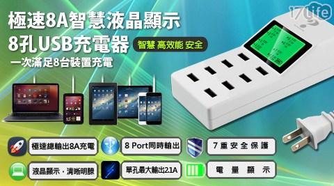 充電器/供電器/充電頭/USB/USB充電器/液晶顯示