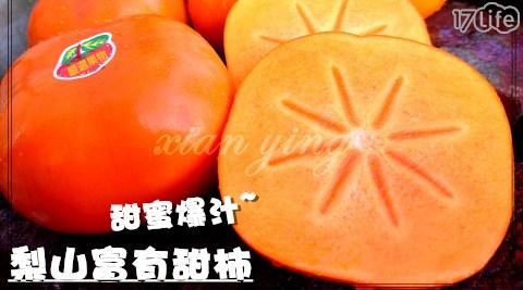 水果/伴手禮/禮盒/贈禮/季節限定/爆甜梨山富有甜柿/年節
