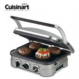 【美國 Cuisinart美膳雅】多功能燒烤/煎烤盤/烤肉架 GR-4