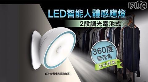 兩段式LED360º智能人體感應燈/人體感應燈/感應燈/燈/夜燈