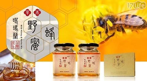 蜂蜜/沖泡/噶瑪蘭/草本野蜂蜜/酷氏/飲品