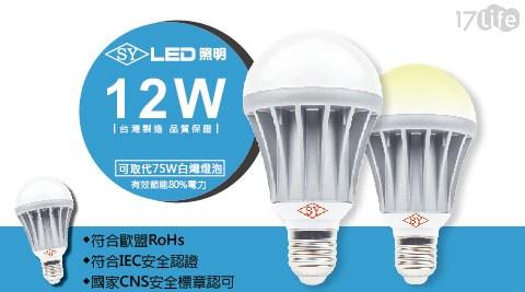 燈泡/LED/12W/燈泡球