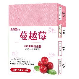 【2eHealth愛伊健康】蔓越莓益生菌膠囊(30顆/盒)