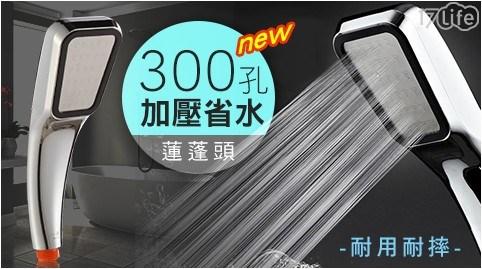 300孔/省水/加壓/蓮蓬頭