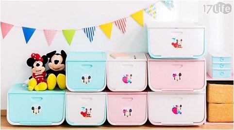 日本IRIS迪士尼上掀式收納箱