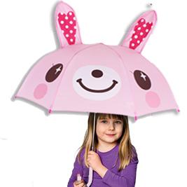 【EVER AEON】兒童造型傘 卡通雨傘 立體造型