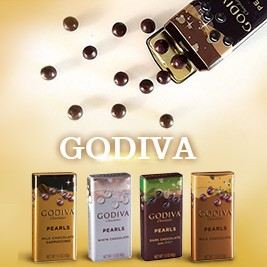 【GODIVA】珍珠巧克力球鐵盒五口味