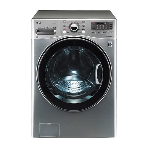 【LG 樂金】18公斤 WiFi蒸氣洗脫烘變頻滾筒洗衣機 WD-S18VCD 1入/組
