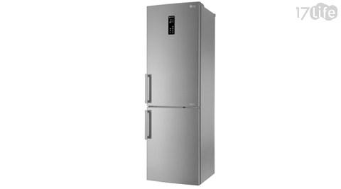 【LG樂金】350公升直驅變頻上下門冰箱GW-BF388SV