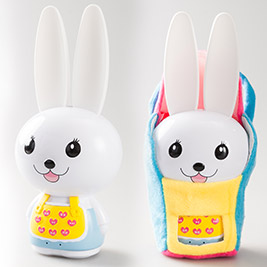 第二代芽比兔幼兒啟蒙教育故事機