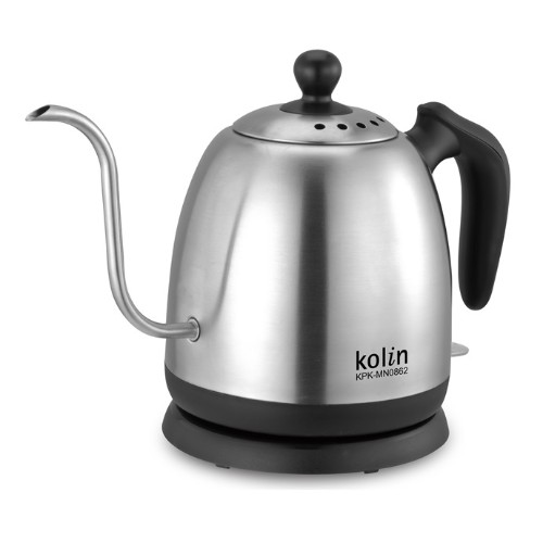 【Kolin歌林】0.8公升細口不銹鋼快煮壺(手沖咖啡)(KPK-MN0862) 1入/組