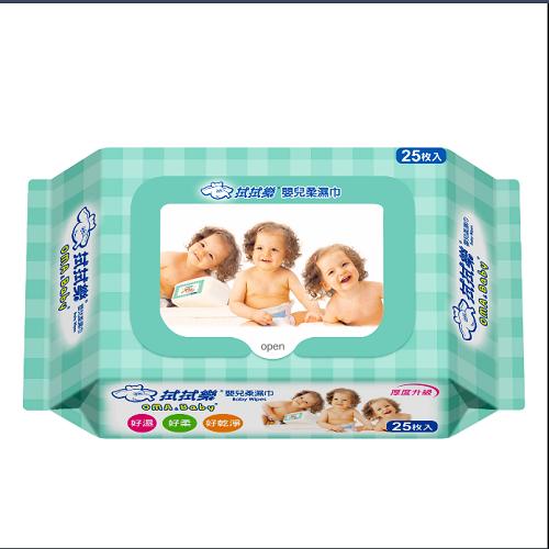【拭拭樂】 嬰兒超純水便利包柔濕巾(25抽*36包) 1箱/組