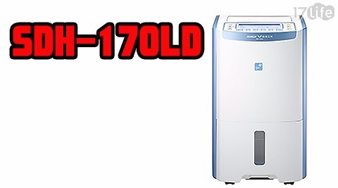 【台灣三洋 SANLUX】17公升 超大容量 微電腦清淨除濕機 SDH