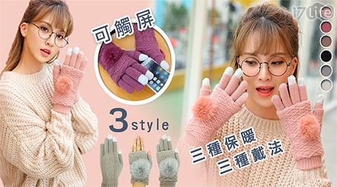 手套/防風手套/保暖手套/觸控手套/毛絨手套/可拆除