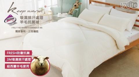羊毛抗菌被/羊毛/棉被/保暖
