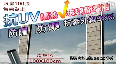 防紫外線/抗UV/玻璃貼/隔熱/UV/紫外線