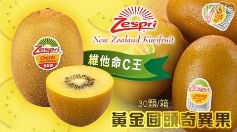紐西蘭/Zespr/黃金圓頭奇異果/奇異果/水果/果汁/進口/沙拉/維他命C