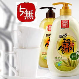【韓國AK】蔬果碗盤洗潔液750ml