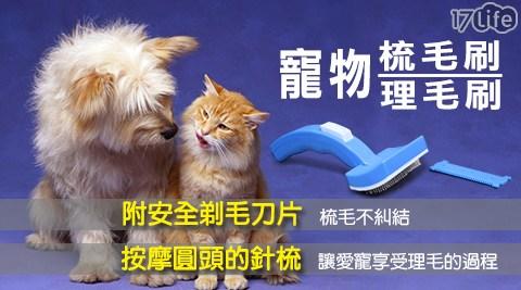 寵物梳毛刷/理毛專用/安全剃毛刀片/寵物/貓/狗/毛小孩/梳毛刷