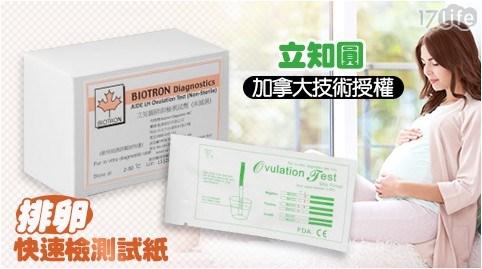加拿大/立知圓/排卵檢測/檢測試紙/排卵/檢測/試紙