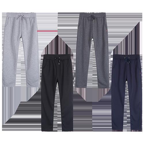 加絨加厚休閒棉褲買一送一共2件/組(黑/深灰/淺灰/深藍-顏色隨機) 1組