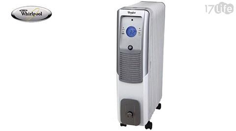 只要 3,090 元 (含運) 即可享有原價 6,490 元 【| Whirlpool | 惠而浦】微電腦9葉片電暖器 TET09